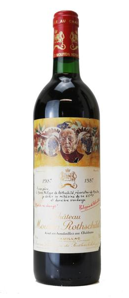 Chateau Mouton Rothschild , 1987