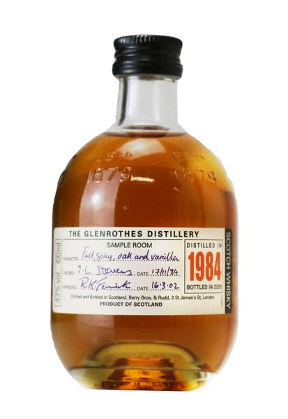 Glenrothes Whisky , 1984