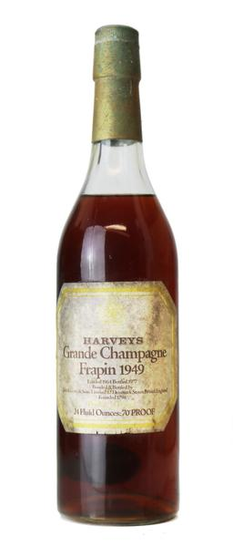 Frapin Grand Champagne Cognac , 1949