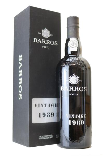 1989 Barros Vintage Port  , 1989