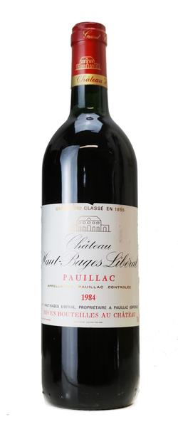 Chateau Haut-Bages Liberal, 1984