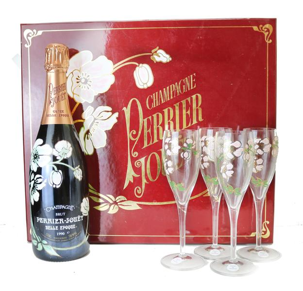 Champagne Perrier-Jouet, 1990