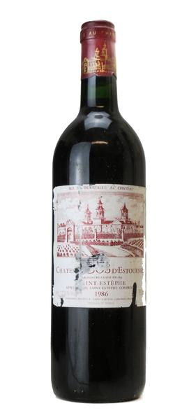 Chateau Cos d'Estournel, 1986