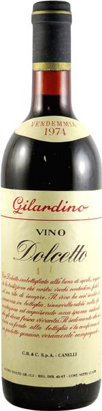 Dolcetto, 1974