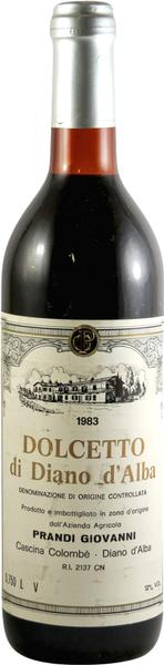 Dolcetto, 1983