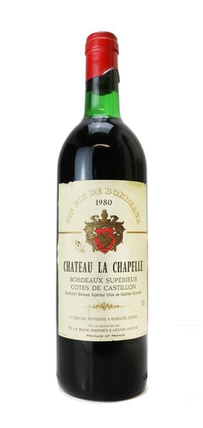 Chateau La Chapelle, 1980
