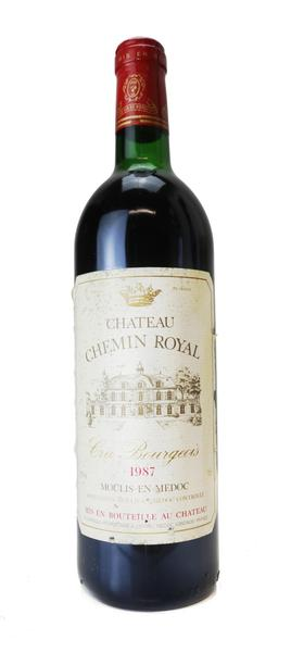 Chateau Chemin Royal , 1987