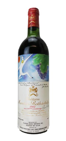 Chateau Mouton Rothschild , 1982