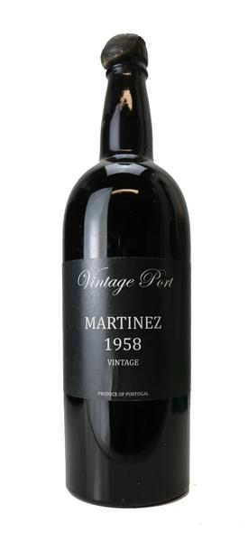 Martinez Vintage Port, 1958