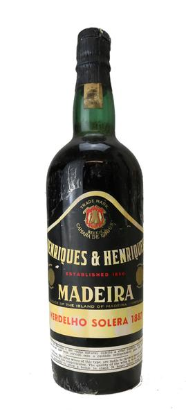 Henriques and Henriques Madeira, 1887