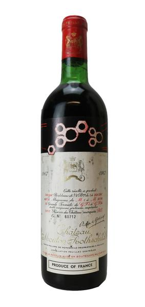 Chateau Mouton Rothschild , 1967