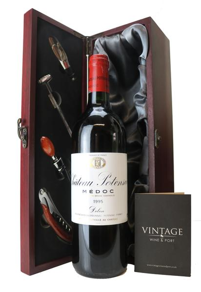1995 Chateau Potensac in Gift Box - 25th Anniversary Wine, 1995