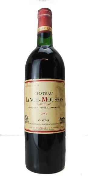Chateau Lynch Moussas, 1981