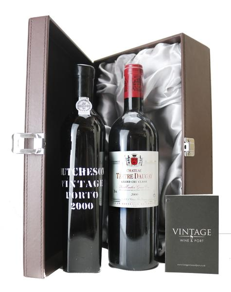 2000 Bordeaux & Port Gift Set, 2000