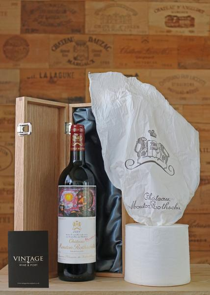 Toilet Roll and FREE bottle of Mouton Rothschild 1998,  Non Vintage
