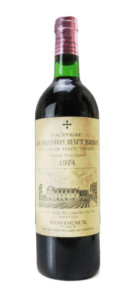 Chateau La Mission Haut Brion, 1974