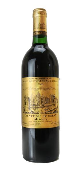 Chateau d'Issan, 1986