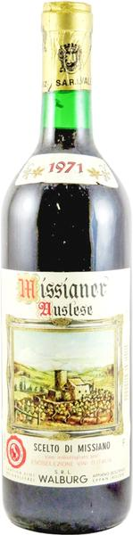 Missianer Auslese, 1971