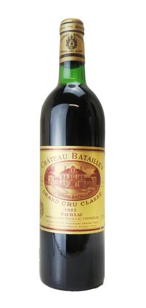 Chateau Batailley, 1982