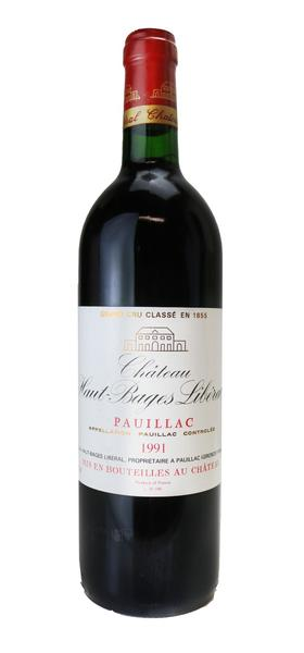 Chateau Haut-Bages Liberal, 1991