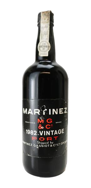 Martinez Vintage Port, 1982