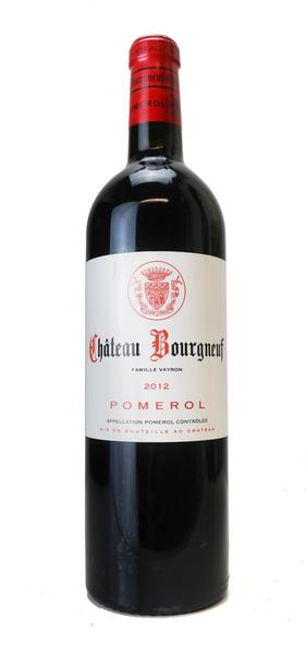 Chateau Bourgneuf, 2012