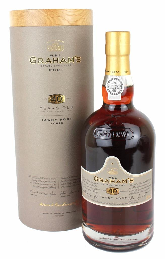 40 Year Old Graham's, 1979