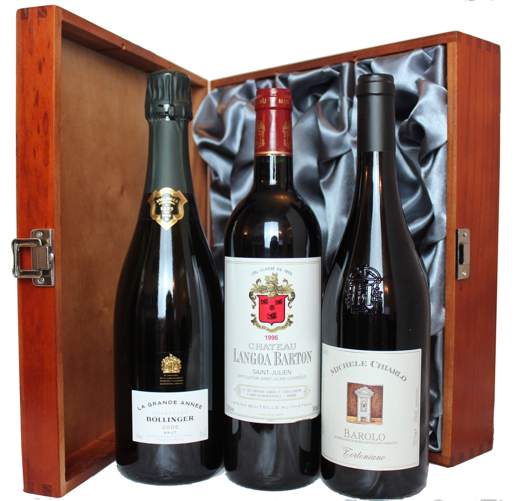 Triple Premium French and Italian Wine Selection 250, 0