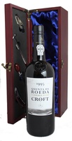 1995 Croft Quinta do Roeda Vintage Port in Gift Box with Accessories, 1995
