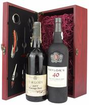 40 Years of Taylor's Port Deluxe Gift Set, 1977