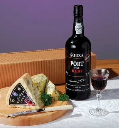 Ruby Port From Vintage Wine And Port